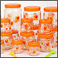 Printed Pet Plastic Jars & Plastic Bottles